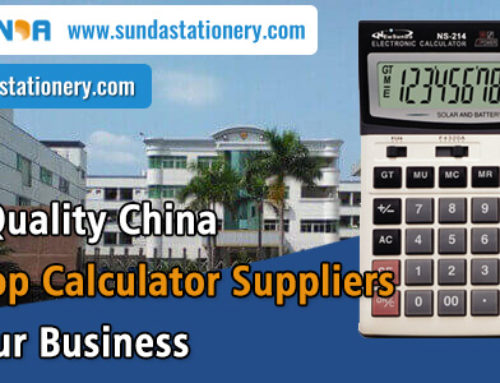 High Quality China Desktop Calculator Suppliers for your Business