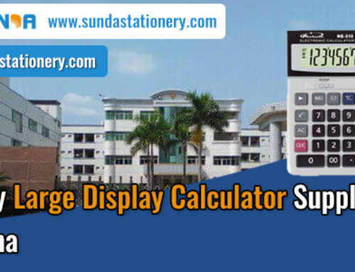 High Quality Large Display Calculator Supplier in China