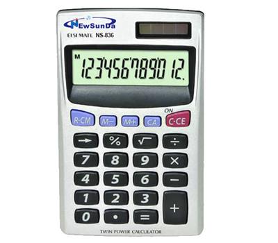 small pocket calculator
