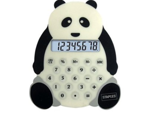 Cute Cartoon Calculator