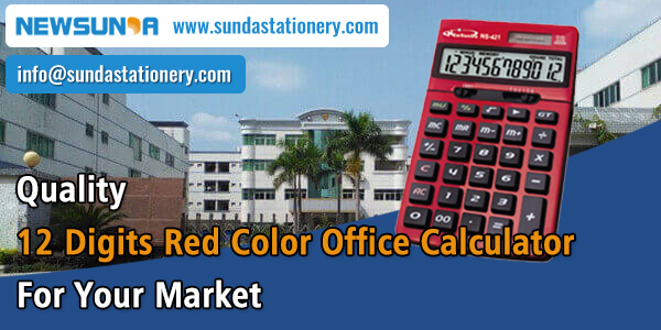 Quality-12-Digits-Red-Color-Office-Calculator-For-Your-Market-NEWSUNDA