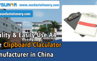 Quality-&-Easily-Use-A4-Size-Clipboard-Claculator-Manufacturer-in-China