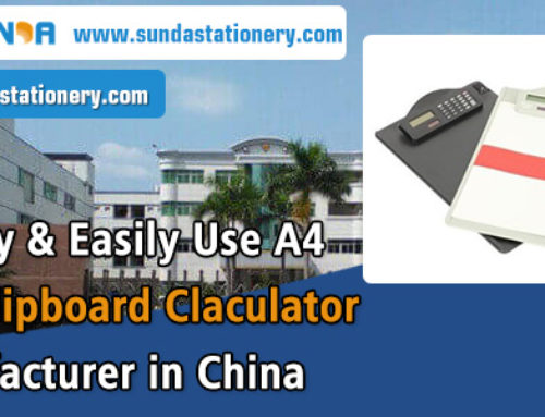 Quality & Easily Use A4 Size Clipboard Claculator Manufacturer in China