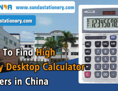 Where To Find High Quality Desktop Calculator Suppliers in China